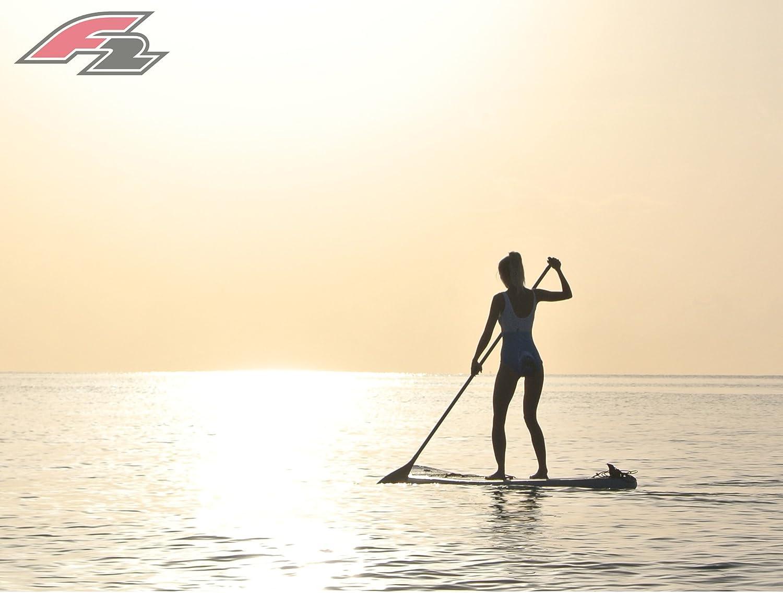F2 boardsports F2 Equipo Hinchable SUP Tabla De Remar - isup Paddleboard con kayak asiento, Paleta, bomba y Kit de reparación Accesorios - 10.5