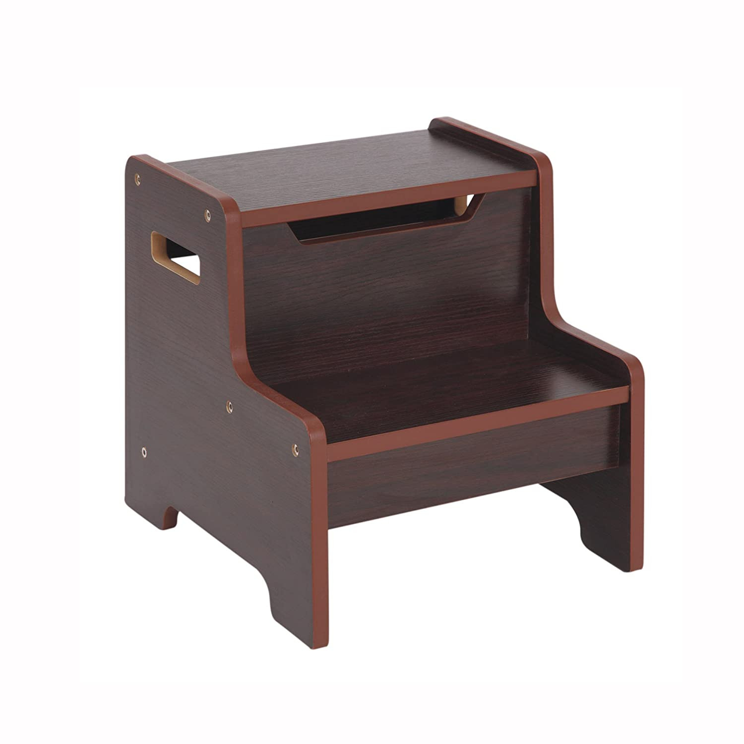Awesome Guidecraft Expressions Step Stool Step Up Kids Furniture Espresso Dark Cherry Camellatalisay Diy Chair Ideas Camellatalisaycom