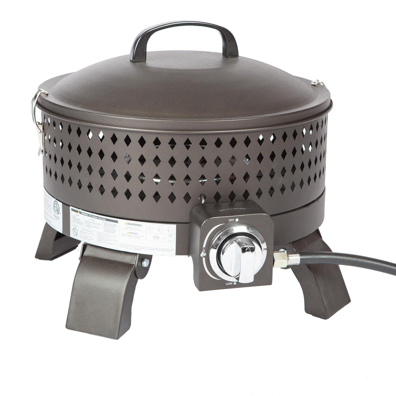 Paramount BBQ-211-BK Campfire Portable Fire Pit