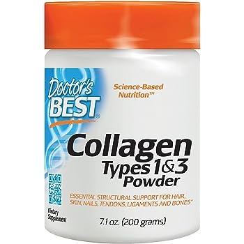 Colageno Hidrolizado En Polvo Con Vitamina C - 7.1 Onzas De Colageno Puro Natural Para La