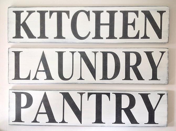 Kitchen farmhouse sign, Bakery sign, Apothecary sign, Pantry sign, Laundry sign, Home sign, Farmhouse sign