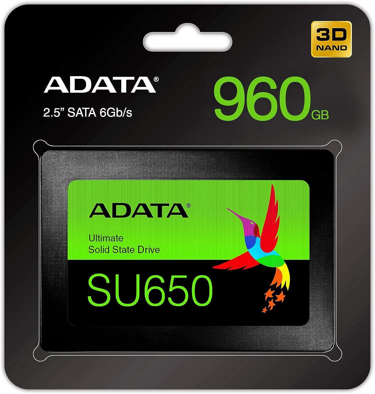 ADATA SU650 Unidad de Estado sólido 2.5