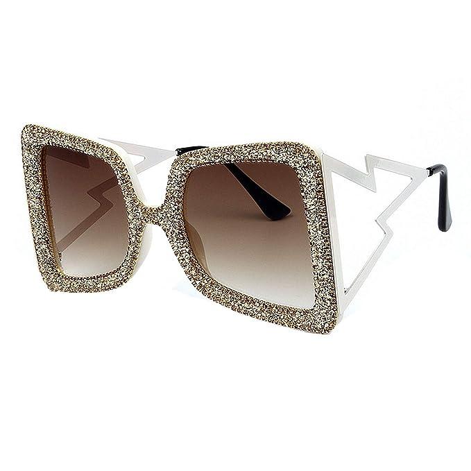 Amazon.com: Gafas de sol de gran tamaño para mujer, grandes ...