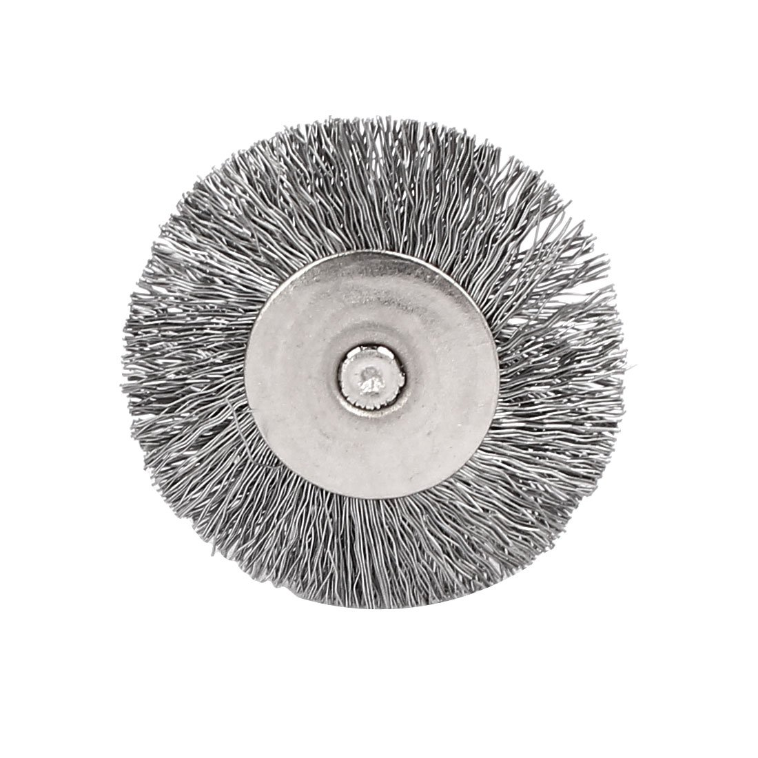 sourcingmap/® Steel Wire Wheel Brush Polishing Rotary Tool 25mm Dia 10pcs