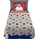 Franco Kids Bedding Soft Sheet Set, 3 Piece Twin Size, Super Mario Odyssey
