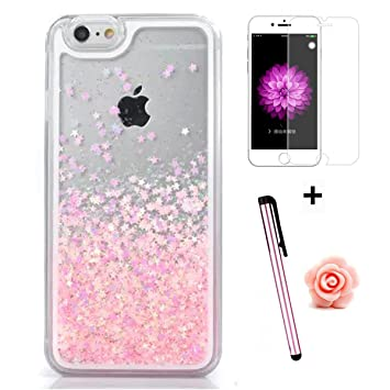 custodia iphone 6 glitter