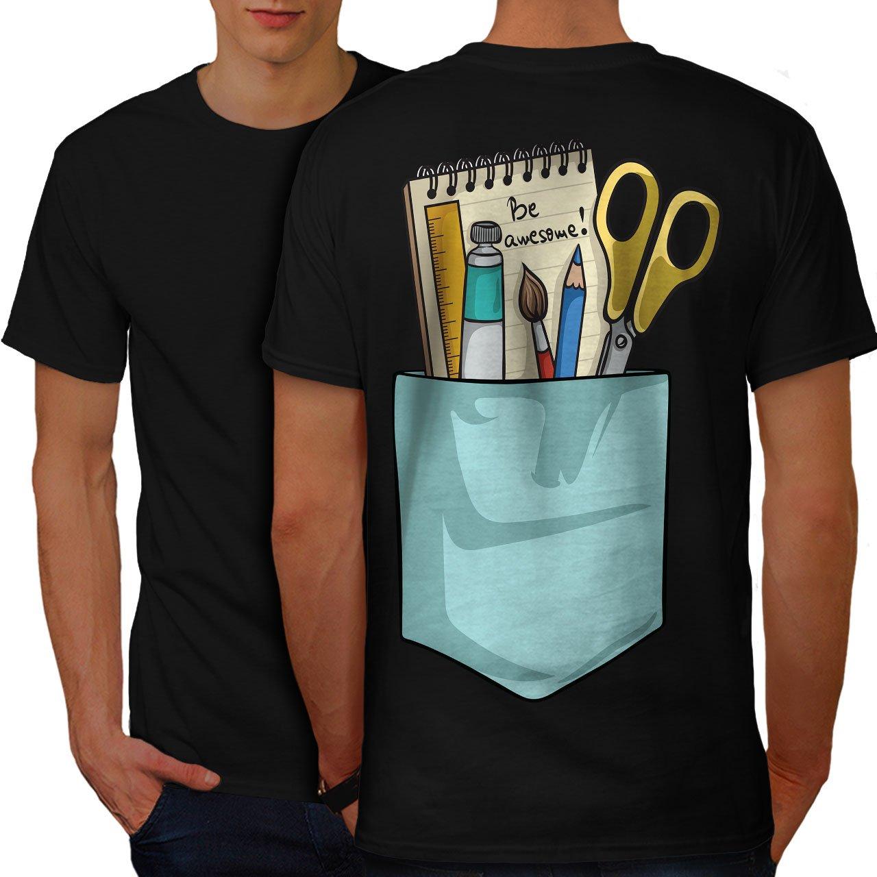 03ed9168 Amazon.com: wellcoda Artist Designer Funny Mens T-Shirt, Design Print on  The Back: Clothing