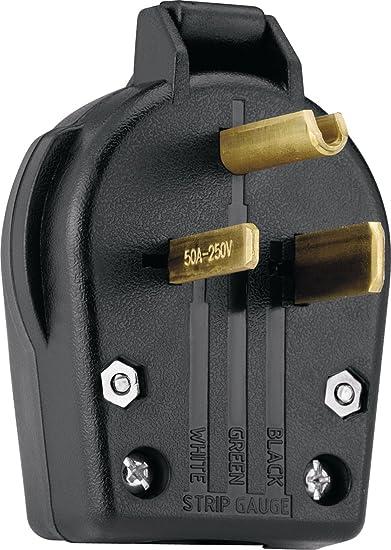 EATON S42-SP wall plates Black Power Plug 30 amp 50 amp Commercial Grade