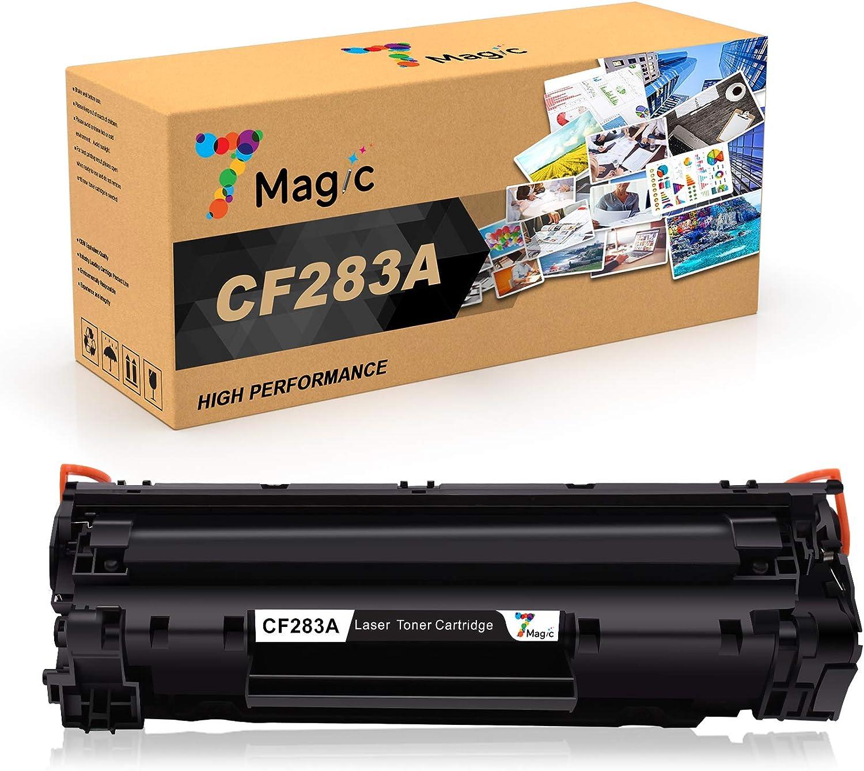 7magic Kompatibel Hp 83a Cf283a Toner Patronen Für Hp Laserjet Pro Mfp M225dw M225dn M125nw M125a M127fw M127fn M201dw M201n M220 Drucker 1 Schwarz Bürobedarf Schreibwaren