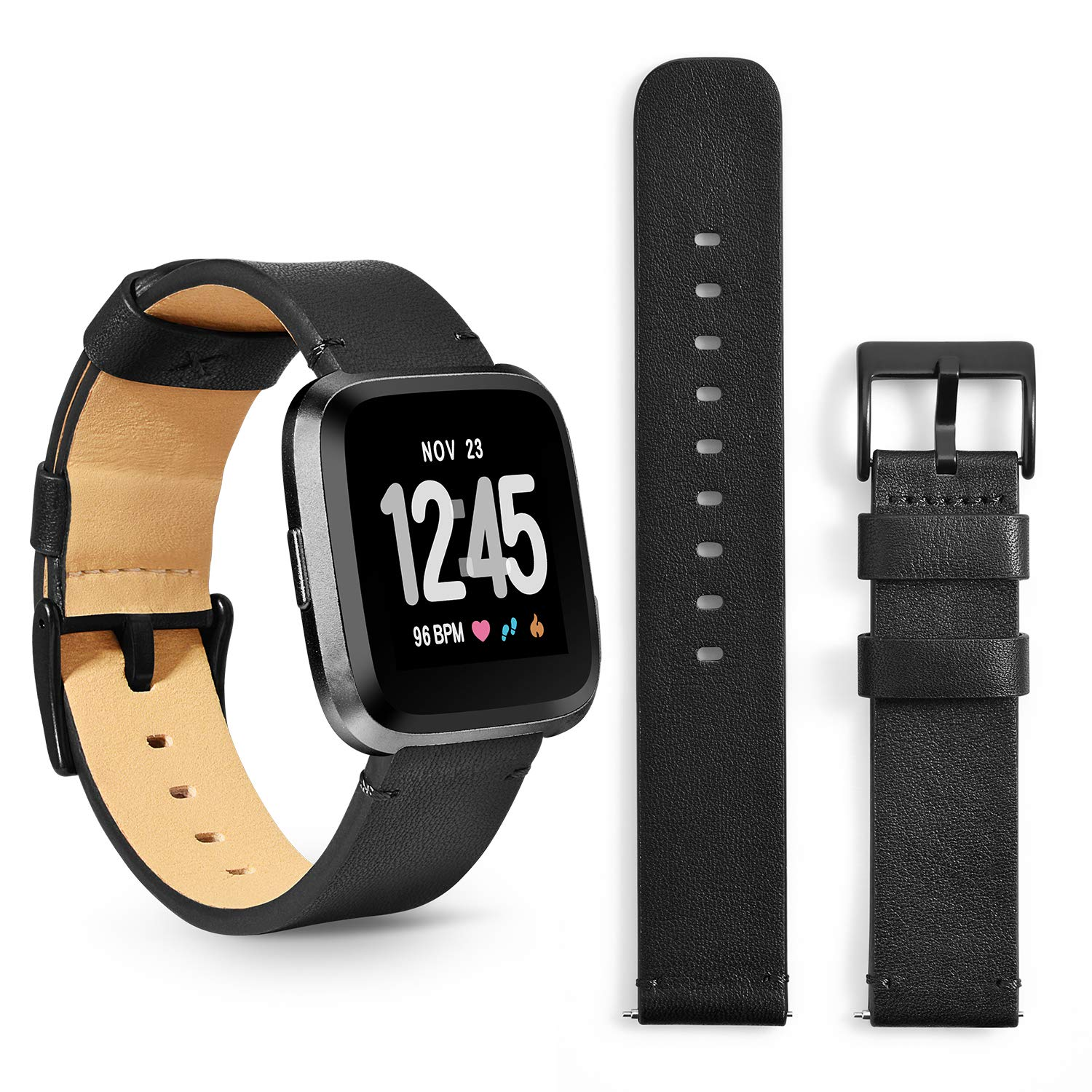 Humenn Bands Compatible for Fitbit Versa Bands,Replacement Accessories Wristband Strap for Fitbit Versa