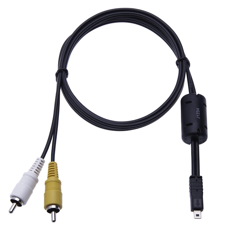 UC-E6 AV Keple Audio Video Cable de TV Cable para la serie Panasonic Lumix DMC-TZ DMC-TZ5 DMC-TZ60 DMC-TZ8 DMC-TZ56 DMC-TZ50 DMC-TZ55 DMC-TZ61