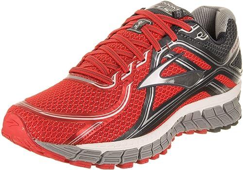 Brooks Adrenaline GTS 16 M, Zapatillas de Running para Hombre, High Risk Red/Anthracite/Silver, 45 EU: Amazon.es: Zapatos y complementos