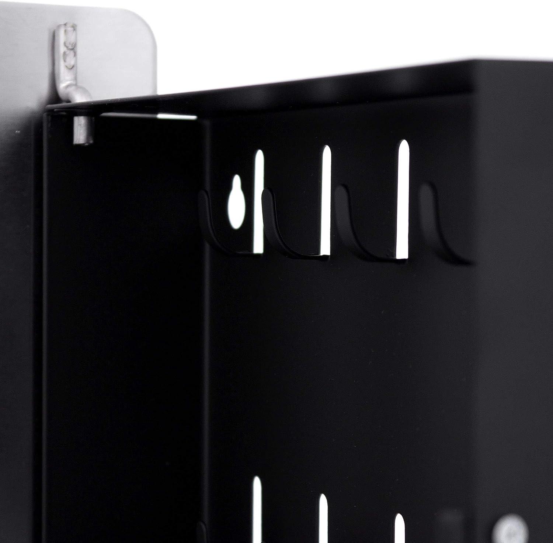 24x21,5cm Motiv Eule 10 Haken f/ür Schl/üssel banjado Design Schl/üsselkasten aus Edelstahl praktischer Magnetverschluss