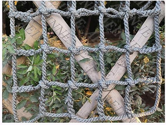 Red Escalera,Red Escalada Cuerda Gruesa Escalera NiñOs Trepar Arbol Trepadora Nailon Enredadera Estanteria de Nylon Entrenamiento Trepa Coche Hamaca Malla Multiusos Grand Sujeccion Carga Deporte: Amazon.es: Deportes y aire libre
