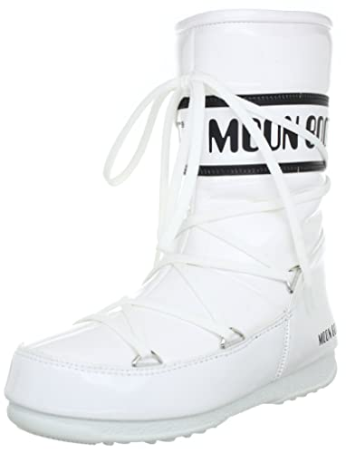 Tecnica Womens Moon Boot W.E. Puddle Jumper Mid Boots White Weiss (weiss -  schwarz 012