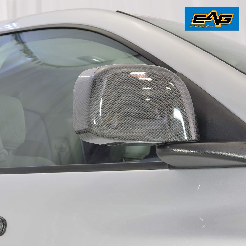 Mirror Chrome Side Door Handle Covers Trims for Dodge 05-08 Dakota Quad Cab 04-08 Durango 02-08 RAM 1500 03-09 RAM 2500 3500 Pickup Quad Cab Jeep 99-04 Grand Cherokee 02-07 Liberty Brand