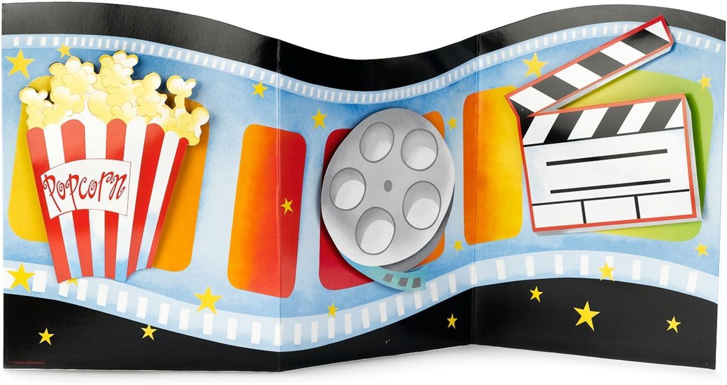Centro De Mesa Con Accesorios Temática Luz Cámara Acción: Amazon.es: Juguetes y juegos