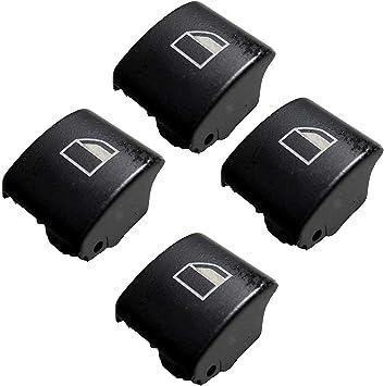 Twowinds 4x Fensterheber Schalter Tasten Reparatur Recht Und Links E46 X3 X7 Auto