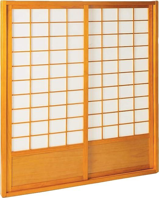 Muebles Oriental Zen japonés Shoji Puerta kit-honey: Amazon.es: Hogar