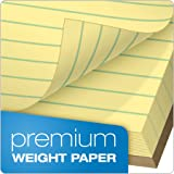 "TOPS Docket Gold Writing Pads, 8-1/2"" x"