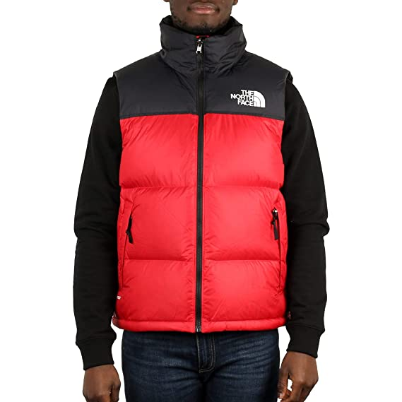 0bab02035 THE NORTH FACE Men's 1996 Retro Nuptse Gilet, Red