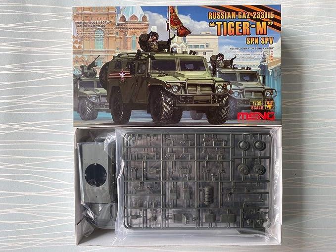 Meng Model 1//35 VS-008 RUSSIAN GAZ 233115 SPN.SPV /'TIGER-M model kit