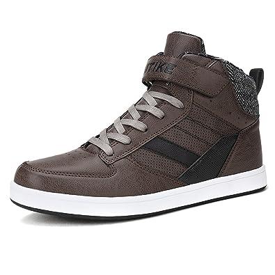 Baskets Mode Adulte Boy Sneaker Baskets Bottines Cuir Baskets montantes ueNakrJY