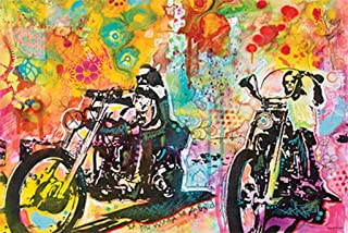 product image for Easy Rider By Dean Russo Poster Rolled 36 x 24 PSA011130