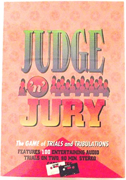 The Game of Trials and Tribulations Winning Moves Judge N Jury
