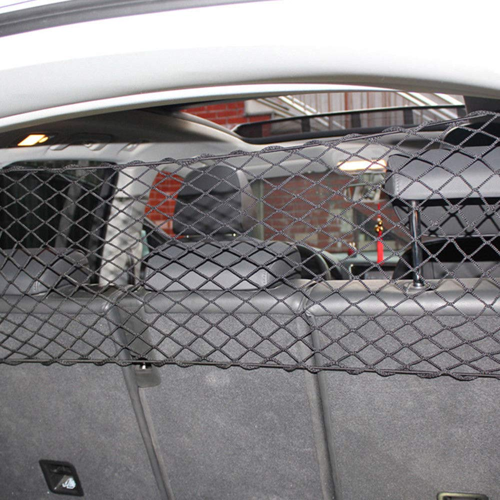 Greetuny Filet Barriere de Securite de Voiture pour Animal de Compagnie Pet Net Barri/ère R/églable Cl/ôture de S/écurit/é Isolation De Voiture Zone