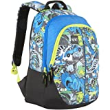 Wildcraft Polyester 28 Ltrs Blue School Backpack (Wiki 1 Streets 1)