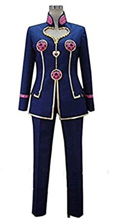 Amazoncom Vicwin One Anime Giorno Giovanna Uniform Outfit Cosplay
