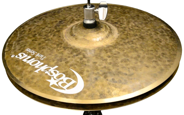 Bosphorus Cymbals K15HD 15-Inch Turk Series Hi-Hat Cymbals Pair