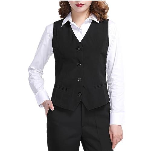 Women S Suit Vest Amazon Com