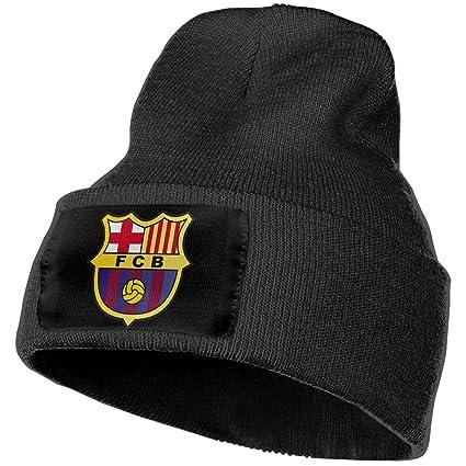 Amazon.com  TSHNM Fc Barcelona Beanie Caps 0f9278c04