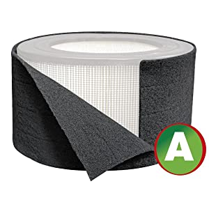 Carbon Pre-Filter For Honeywell 17000-S Air Purifier - Replacement Filter A HRF-AP1 (1)