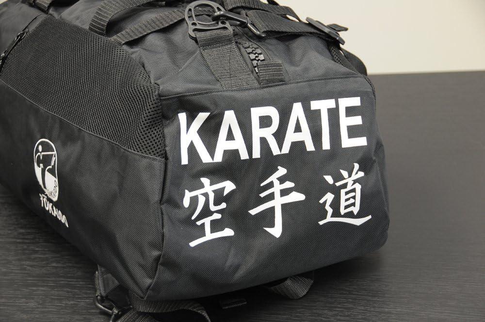 NEW Tokaido Karate Duffel Bag KARATE Sparring gear Equipment Backpack-BLACK