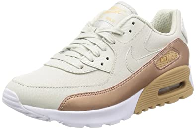 Nike Womens Air Max 90 Ultra SE Light BoneLight Bone White Running Shoe 7.5 Women US