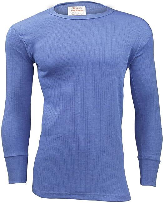 Mens Thermal Underwear Short Sleeve Shirt Top Ski Warm Winter Vest ALL SIZES
