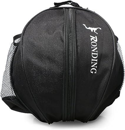 Lepeuxi Balle de Sport Sac Rond Basketball Sac /à bandouli/ère Soccer Ball Football Volleyball Sac de Transport Sac de Voyage pour Hommes et Femmes