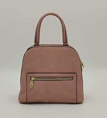 ال بي حقيبة للنساء-زهري - حقائب يد كبيرة بحمالة