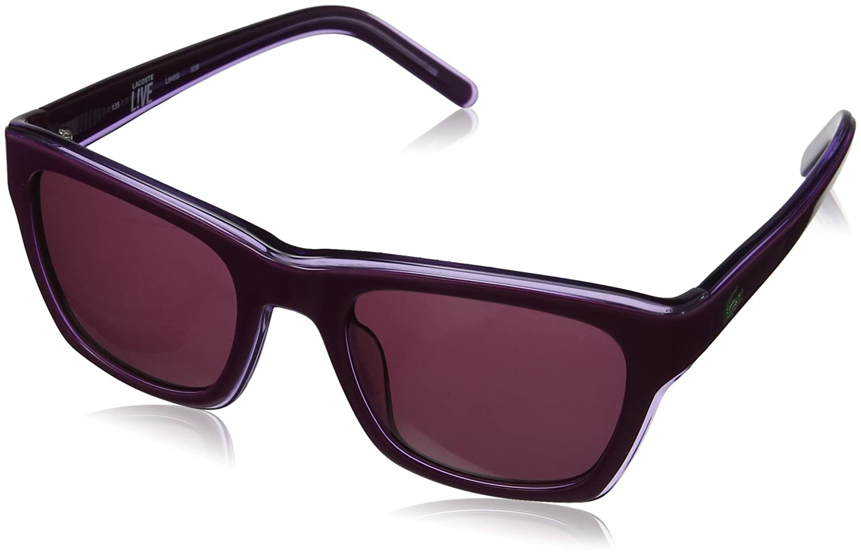 Amazon.com: Lacoste Sadie L645 538 – Gafas de sol Wayfarer ...