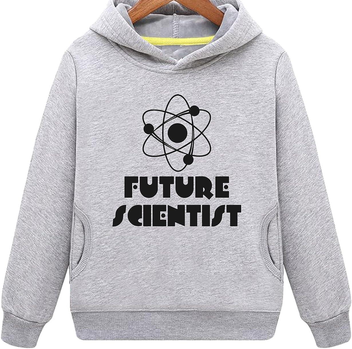 Kids Two Pockets Future Scientist Hoodie
