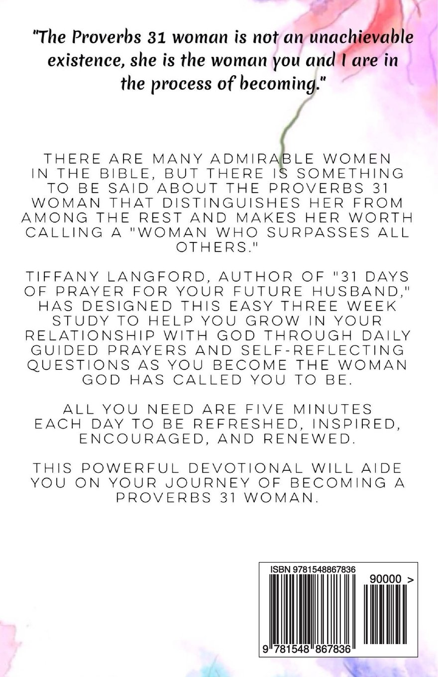 Devotions on proverbs 31