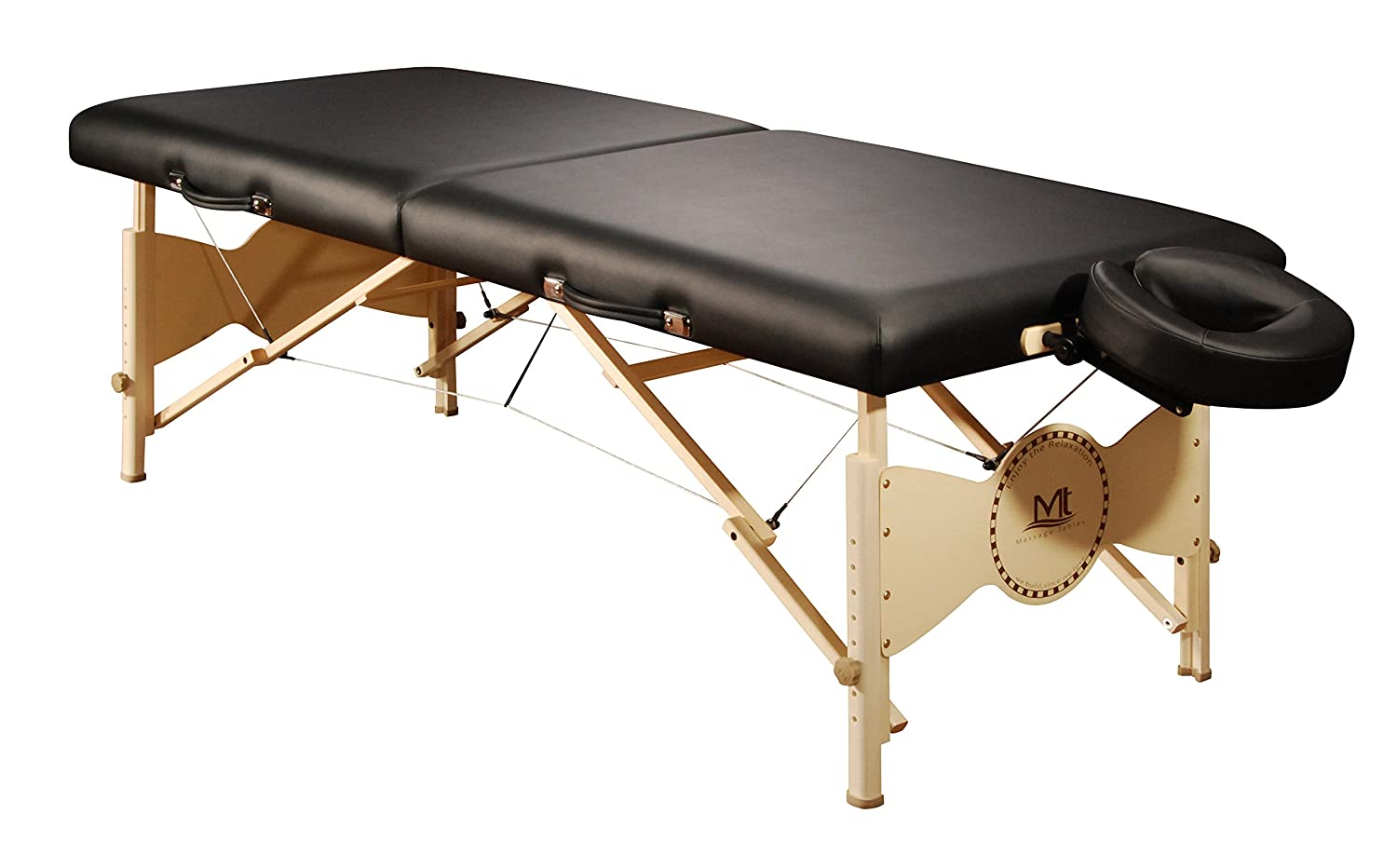 Mt Massage Tables Midas 30 Inch Portable Package, Black, 45 Pound Master Home Products LTD. (DROPSHIP)