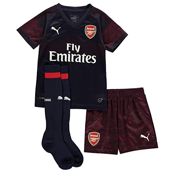 dbd55ef910469 Puma Boys Arsenal Away Mini Kit 2018 2019