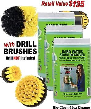 Bio Clean: duro agua quitamanchas comprar 2 limpiadores (48ozmax ...