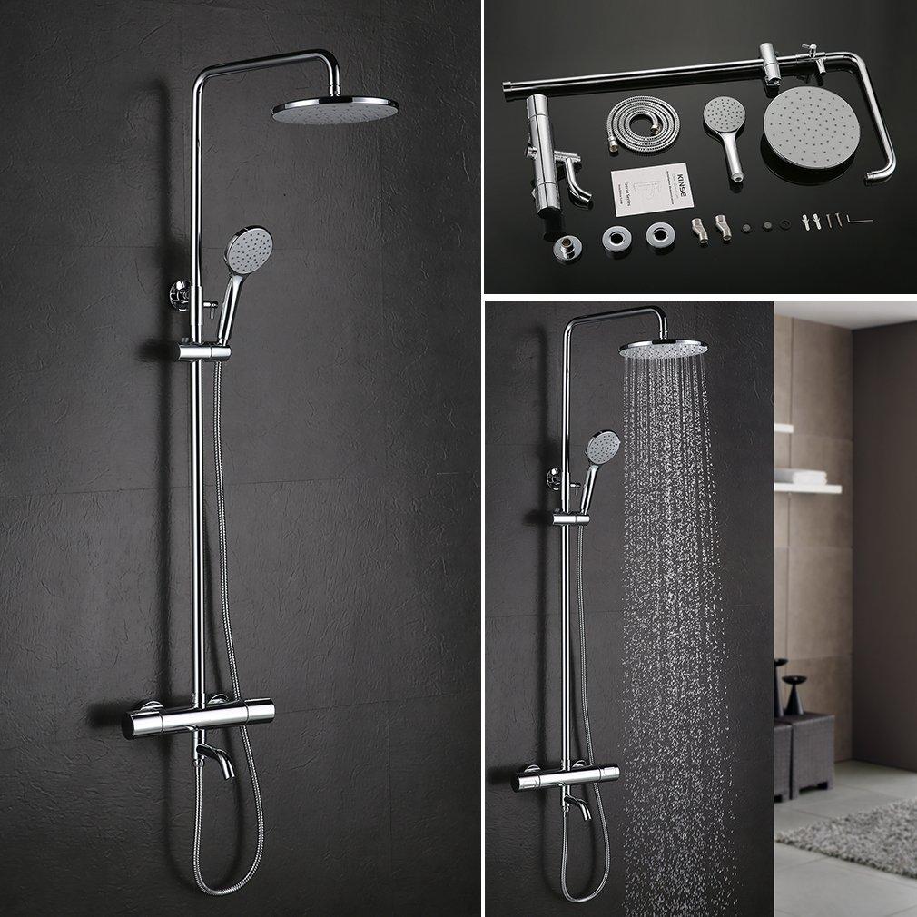 Soffioni per doccia soffione ultrapiatto quadrato per docciacsn with soffioni per doccia - Altezza soffione doccia ...