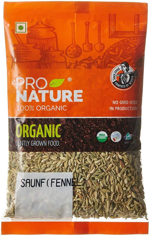 Pro Nature 100% Organic Saunf (Fennel), 250 g by Hindustan Mart (Image #1)