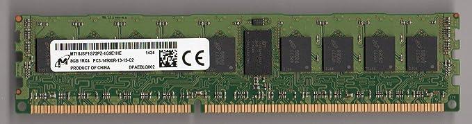 DDR3 ECC REG MICRON MT36JSZF1G72PZ-1G4D1 2X8GB 16GB